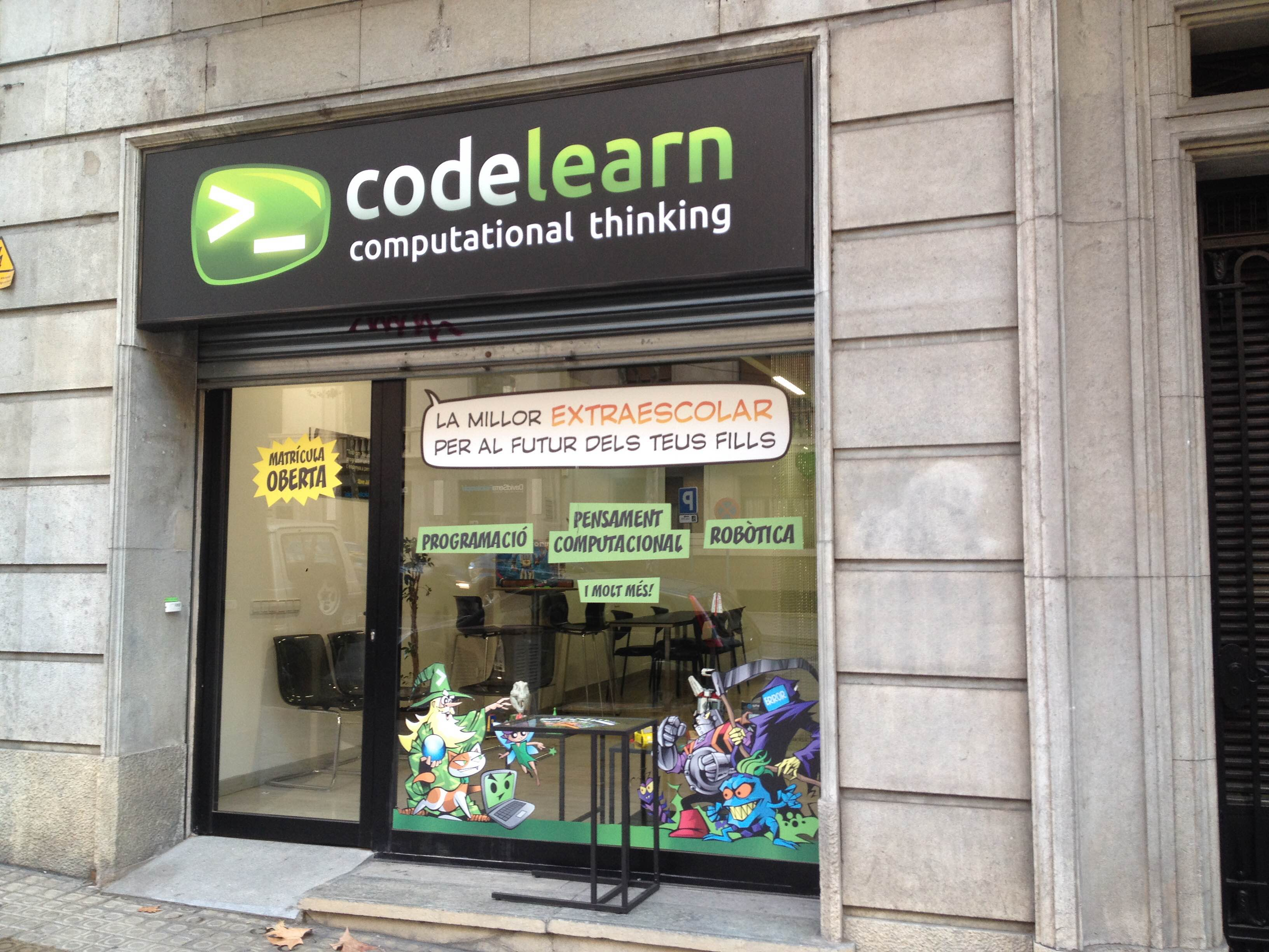 Codelearn is the best after-school program to learn programming, robotics and computational thinking