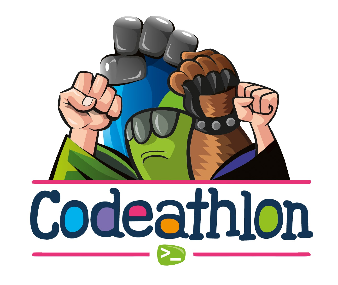 Codeathlon is a programming and robotics league for Codelearn students