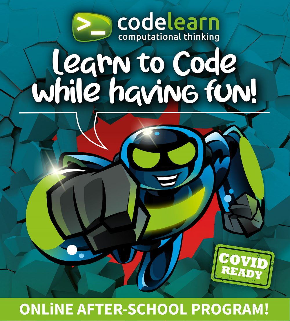 Learn to code while having fun with Codelearn's online after-school program